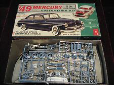 VTG 1963 '49 Mercury Club Coupe Model/Kit AMT USA 02-349 Rare Time Capsule Kept!