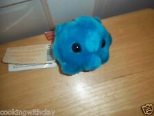 GIANT MICROBES DRUG REP PROMO PLUSH DOLL FIGURE COMMON COLD RHINOVIRUS HANG TAG