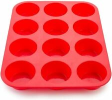 12 Round Shape Silicone Mould Chocolate Candy Jelly Tray Cake Decoration