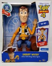 Disney Toy Story 4 Sheriff Woody Pull String Action Figure Walmart Exclusive