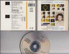 TONY BANKS Soundtracks CD CAS CD1173  GENESIS FT TOYAH FISH used w pen scribbles