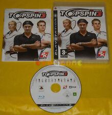 TOP SPIN 3 Ps3 Versione Ufficiale Italiana 1ª Edizione »»»»» COMPLETO