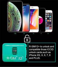 RSIM 12+ Plus 2019 R-SIM Nano Unlock Card fits iPhone X/8/7/6/6s 4G iOS 12.3
