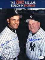 Joe Torre Don Zimmer Jsa Coa Autograph 8x10 Photo Hand Signed Authentic