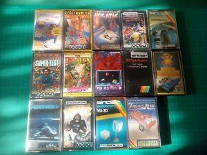 Sinclair ZX Spectrum Games job lot x 14
