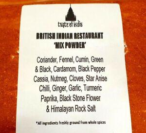 Taste of Indian - British Indian Restaurant (BIR) MIX POWDER 350g, free delivery