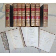 HISTOIRE ANCIENNE de Charles ROLLIN 11 volumes Imprimerie DIDOT Chez CAREZ 1821