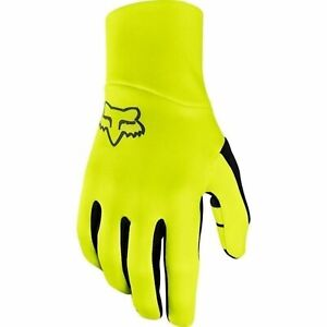 Fox Racing Ranger Fire Glove Day Glo Yellow Gloves Hosted by The Winter Bike MTB