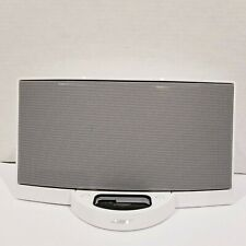 White Bose SoundDock Series 1 Music System Only - AS IS FOR PARTS NO CORDS
