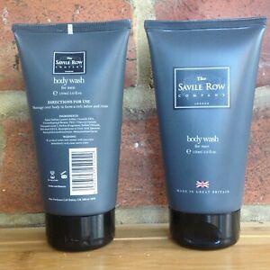The Savile Row, Body Wash for Men, Set of 2, 2 x 150ml/5fl.oz., RRP £23 each