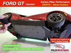 Carbon Fiber Aero Side Skirts Traxxas Ford GT 4 Tec 2.0 Spoilers Down Force
