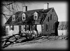 Dutch Colonial house plans, blueprints, traditional New England home, PDF file