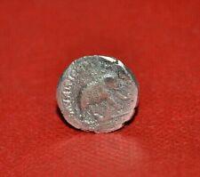 UNRESEARCHED ANCIENT ROMAN AR SILVER DENARIUS COIN Julius Caesar / Elephant 10g