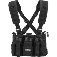Barska Loaded Gear VX-400 Tactical Black Molle Chest Rig w/ Mag Pouches, BI12258