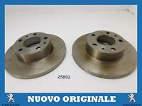 Pair Front Brake Discs Pair Of 280MM PEUGEOT Boxer Shorts