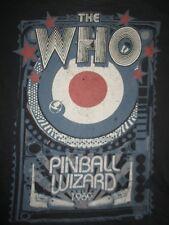 Retro The Who Pinball Wizard 1969 (Med) T-Shirt Roger Daltrey Pete Townshend