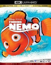 Finding Nemo (4K Ultra Hd + Blu-ray + Digital Copy, 3-Disc set) w/slipcover, New