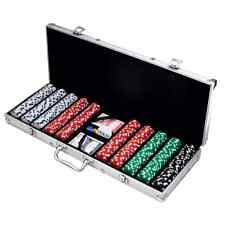 Poker 500 Dice Style 11.5-Gram Quality Poker Casino Chip Case Set Brand New