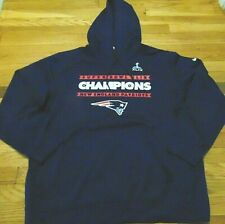 NIKE NFL NEW ENGLAND PATRIOTS SUPER BOWL XLIX PERFORMANCE SWEATSHIRT SIZE 2XL