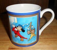 "WALT DISNEY'S ""FANTASIA""W/MICKEY MOUSE CERAMIC COFFEE MUG UNUSED RETIRED RARE"