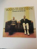 CARL REINER & MEL BROOKS 2000 AND THIRTEEN LP Vinyl Record Album Vintage Rare