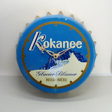 Vintage Kokanee Beer Bottle Cap Wall Clock