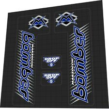 Marzocchi Bomber Z1 Drop Off Fork Decal Set