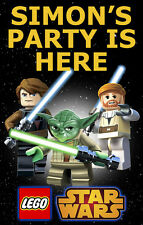 LEGO STAR WARS  PERSONALISED BIRTHDAY DOOR BANNER