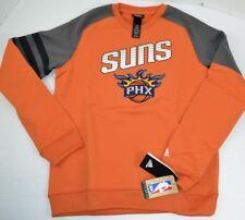 NBA Phoenix Suns YOUTH Adidas Poly Tech Crew Sweatshirt, Orange Large 14/16