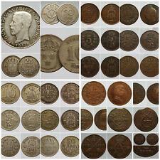 SUEDE KRONER ORE SKILLING 1746 - 1947 Choisissez votre monnaie !