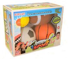 Set of 4 Sports Balls for Kids Soccer Ball Basketball Football Tennis Ball#PSY08