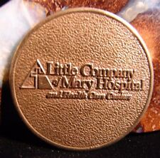 Alcoholics Anonymous Aa Little Company of Mary Recovery Bronze Token Coin Ec