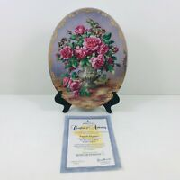 Bradex Collectors Plate English Elegance Limited Edition British Lung Foundation