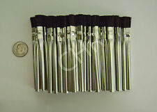 Glue Acid Flux Brushes 48 Mini #00 Lace Wig Hairpiece Craft Auto Ultra Hold Tin