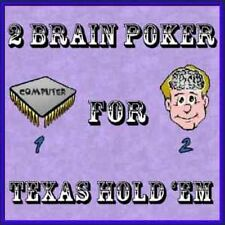 2 Brain Poker 4 Texas Holdem-Up Your Odds Of Winning!