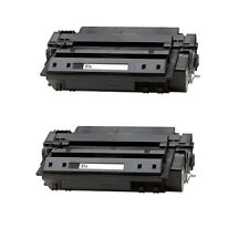 2 Toner For HP Q7551X 51X Laserjet P3005 P3005n P3005x P3005d M3027 M3035