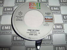 STRAY CATS-STRAY CAT STRUT/YOU DON'T BELIEVE ME rock 45
