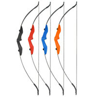Outdoor 30-40lbs Archery Takedown Recurve Bow Longbow Hunting Shooting Both Hand