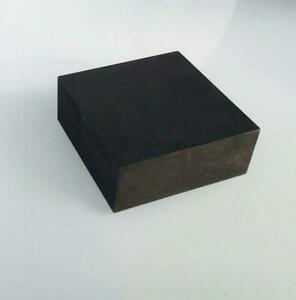 High Purity 99.9% Graphite Ingot Block Plate Thickness 10~30mm