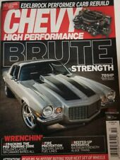 Chevy High Performance Oct 2017 Brute Strength 781HP 70 Camaro  FREE SHIPPING