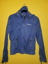 Bench Women's Windbreaker jacket  Light weight with hoodie Size medium