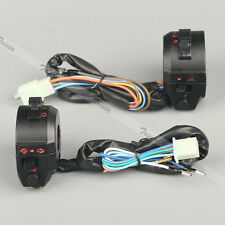 "Motorcycle 7/8"" Handlebar Horn Turn Signal Headlight Electrical Start Switch #JS"