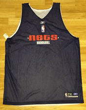 NWOT Vintage Reebok New Jersey Nets Reversible Practice Jersey Size XXL