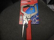 """Crescent Tools 11"""" Rapid Vise C Clamp Locking Plier C11SACR"""