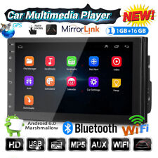 7'' 2DIN Autoradio GPS Android 6.0 Bluetooth Auto Stereo MP5 Player 16GB FM Wifi