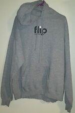 FLIP  mens hoodies pullover Gray XL