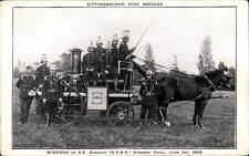 Sittingbourne Fire Brigade by Ramell, Sittingbourne. Steamer Drill Winners.