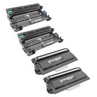 4PK TN750 DR720 for Brother Printer Toner + Drum Unit HL-5440D HL-5450DN HL-5470