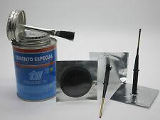 40 Pack Of 6mm Combination Tyre Puncture Repair Plugs & 250ml Tin Of Repair Glue