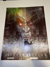 Mondo Poster - Arkham Asylum (Batman) - Dave McKean 1989 22 x 28